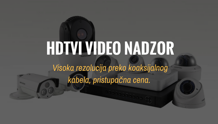 HDTVI video nadzor