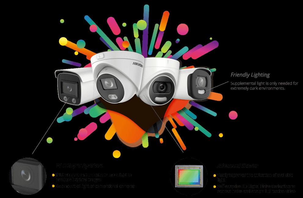 ColorVu kamere koje snimaju u boji